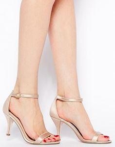 Vergrößern ASOS – HARLEQUIN – Sandalen mit Absatz
