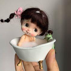 Cute Cartoon Pictures, Cartoon Pics, Cute Disney Drawings, Cute Drawings, Pretty Dolls, Beautiful Dolls, California Bear Tattoos, Blythe Dolls, Barbie Dolls