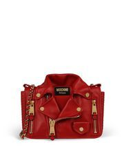 Moschino small leather bag (sheep skin) $1995