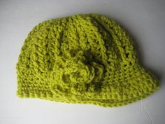 Newsboy capnewsboy hatgrass color by DesignsByWillowcreek on Etsy Knitted Hats, Crochet Hats, News Boy Hat, Unique Jewelry, Handmade Jewelry, Beanie, Trending Outfits, Cap, Etsy Shop