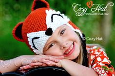 Forest Fox Hat http://etsy.me/11q5fOR  #etsymntt #fox #foxes #dogs #cats