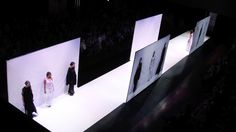 Future of Fashion 2014 catwalk by architect Frank Minnaërt