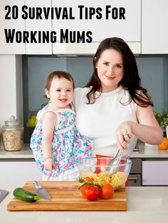 Survival tips for working moms ... practical organization tips on trying to juggle it all