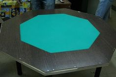DIY Poker table for the man cave