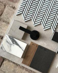 Mood Board Interior, Interior Design Boards, Home Design Decor, House Design, Home Decor, Material Board, Color Pallets, Colour Schemes, House Colors