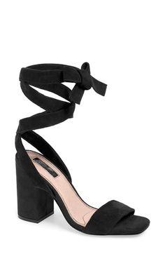 e9bc75e7e98f  Rapping  Ankle Strap Sandal (Women) at Nordstrom.com. Wide wraparound