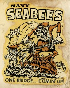 Navy seabees - My brother was a Seabee