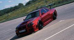 Skyline Gtr, Nissan Skyline, Car Pics, Car Pictures, Nissan R34, Ac Cobra, Nissan Silvia, Jdm Cars, Godzilla