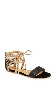 Dolce Vita 'Ashtyn' Mixed Media Sandal (Women) available at #Nordstrom