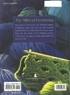 A whole crochet book online! Flip through it, page by page. Some great patterns here..