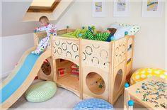 Indoor & Outdoor Playgrounds by CedarWorks | Project Nursery