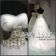 Find More Wedding Dresses Information about Free Shipping Real Sample Sleeveless Pearls Beaded Pattern Ball Gown Wedding Dresses Turkey Istanbul,High Quality Wedding Dresses from 100% Love Wedding Dress & Evening Dress Factory on Aliexpress.com