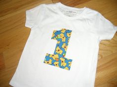 Infant Toddler Boys First 1st Birthday Spot the Dog theme 1 Shirt