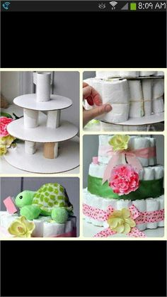 Diaper cakes how to