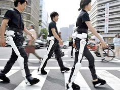 A robot suit that can help the elderly or disabled get around was given its global safety certificate in Japan , paving the way for its worldwide rollout Assistive Technology, Medical Technology, Wearable Technology, Science And Technology, Technology Gadgets, Latest Technology, Wearable Computer, Medical Coding, Technology Articles