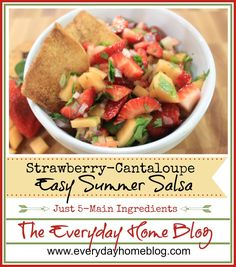 Strawberry-Cantaloup