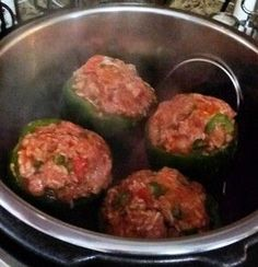 Instant Pot Stuffed Bell Peppers | Josie Smythe | Copy Me That