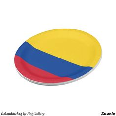 Shop Colombia flag paper plate created by FlagGallery. Colombian Flag, Succulents Diy, Paper Plates, Art For Kids, Wedding Gifts, Art Pieces, Art For Toddlers, Wedding Day Gifts