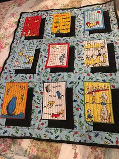 Dr Seuss Baby quilt