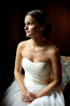 Love this dress. Photo by Justin Hankins Photography (via Style Me Pretty).