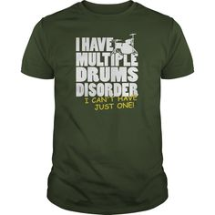 This Shirt Makes A Great Gift For You And Your Family.  Multiple Drums Disorder .Ugly Sweater, Xmas  Shirts,  Xmas T Shirts,  Job Shirts,  Tees,  Hoodies,  Ugly Sweaters,  Long Sleeve,  Funny Shirts,  Mama,  Boyfriend,  Girl,  Guy,  Lovers,  Papa,  Dad,  Daddy,  Grandma,  Grandpa,  Mi Mi,  Old Man,  Old Woman, Occupation T Shirts, Profession T Shirts, Career T Shirts,