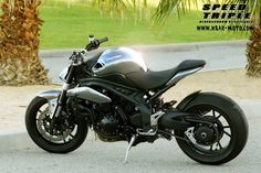 Custom Triumph Speed Triple.