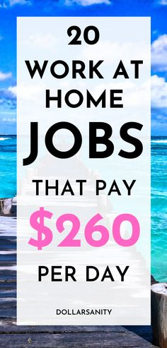 Work from home jobs to make money from home.