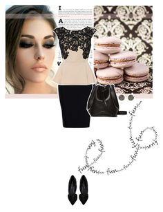 """Elegant Black"" by bettina0123 ❤ liked on Polyvore"