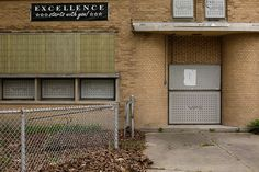 The former Daniel J. Healy International Academy, which was part of Detroit Public Schools, in Detroit, May 3, 2016. (Joshua Lott / The New York Times)