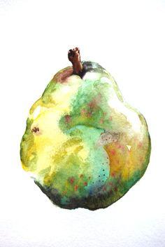 Green Pear by Kristina Closs