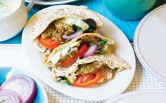 Soy-Free Vegan Shawarma Sandwiches  The combination of savory shawarma and tangy tahini sauce will make this sandwich one of your favorites. (Note: this recipe contains Bragg's; for a entirely soy-free version, use coconut aminos instead, or simply omit.)