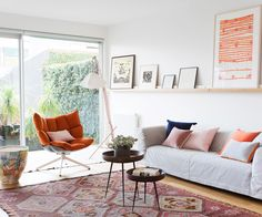 A smart makeover approached with a palpable sense of fun has transformed a dark Melbourne terrace into a bright and art-filled home.