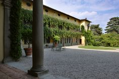 Palazzo Monti della Corte, the Garden