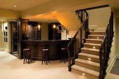 Our basement needs a bar