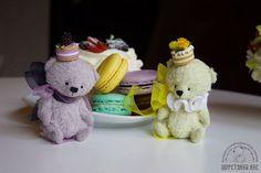 Мишки Ежевичный и Лимонный десерт