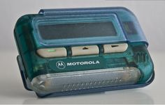 Pagers...mine was the same color