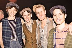 Mike Faist, Garret Hawe, Ryan Steele and Kyle Coffman