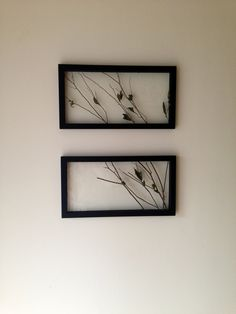 Rustic Framed Twigs & Branches Wall Art by FramingA on Etsy, $65.00