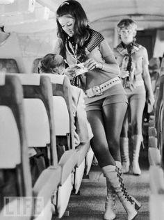 1970's Stewardess