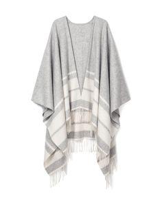 Striped Poncho - I'll be many shades of jealousy...#MothersDay