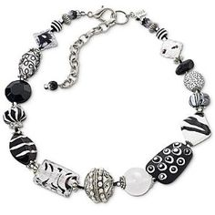 Aris by Treska® Black and White Beaded Necklace review   buy, shop with friends, sale   Kaboodle