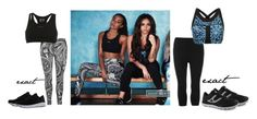 """""""leigh-anne and jesy for usa pro"""" by leigh-jena ❤ liked on Polyvore featuring USA Pro"""
