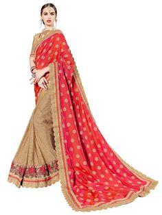 72c7380b3c Indian Women Multi Fancy Fabrics And Jacqard Dhupian Saree Designer Wear, Designer  Sarees, Buy