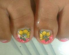 Toe Nail Art, Toe Nails, French Pedicure, Toe Nail Designs, Perfect Nails, Summer Nails, Lily, Nail Stuff, Nail Art Designs