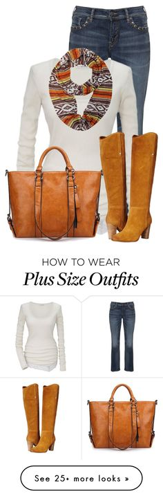 """Untitled #13307"" by nanette-253 on Polyvore featuring Silver Jeans Co. and GUESS"