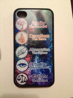 My new Divergent phone case!!! Eep!!! Fangirling!!!
