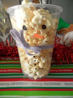 Snowman Snacks on Pinterest