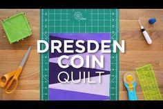 Quilt Snips Mini Tutorial - Dresden Coin Block