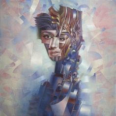 Scent # 6 by Gil Bruvel - Oil on Canvas