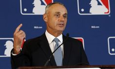 """Rob Manfred says his personal """"frontrunners"""" for MLB expansion are Montreal and Mexico City: http://deadsp.in/bcFI31g  5/6/2016"""